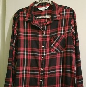 Old navy classic flannel Plaid top size XXL